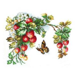 Sprig of strawberry / Eperfürt