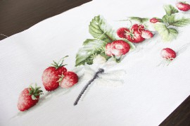 Etude with Strawberries / Epres tanulmány