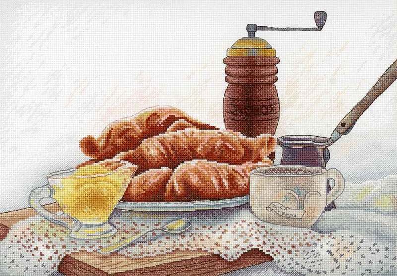 French breakfast / Francia reggeli
